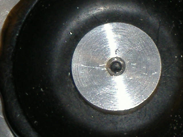 SHEAR SCREW REMOVED FROM SIDE DIAL