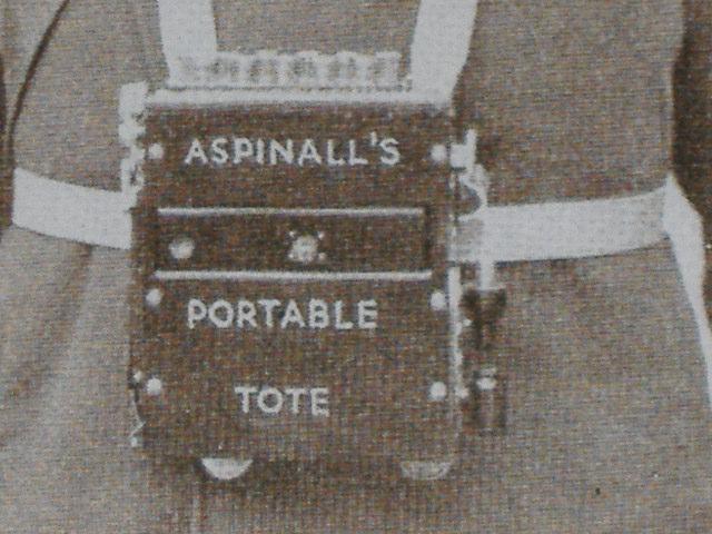ASPINALL TOTE MACHINES