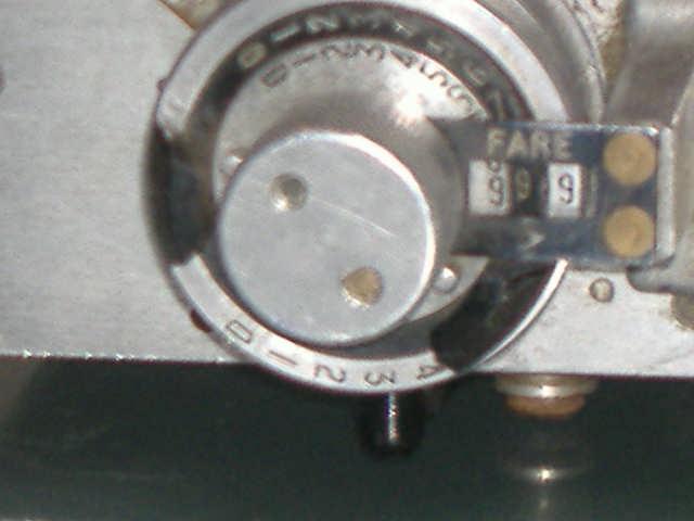 FARE DIAL  Mk111