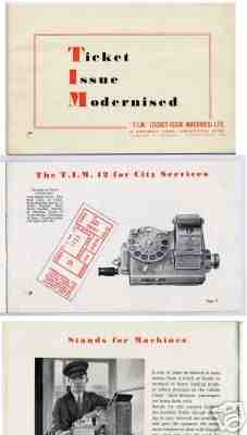 T.I.M ADVERT 1940s