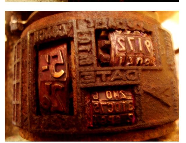B.O.A.C- T.I.M Print plate