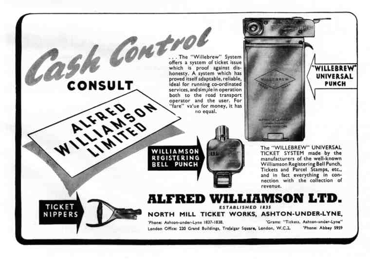 WILLIAMSON ADVERT